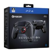 خرید کنترلر مشکی Nacon Revolution Unlimited Pro Black